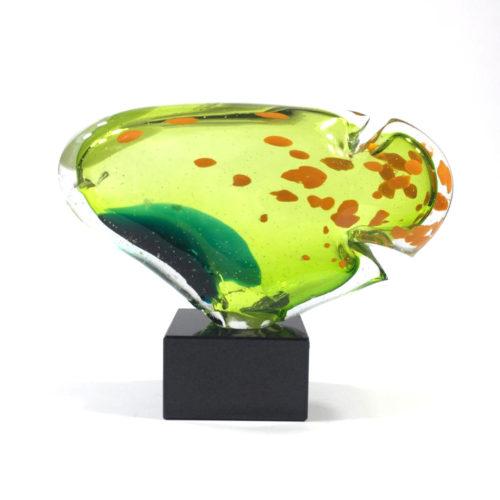 Innenfisch (grün/orange) Bild 1