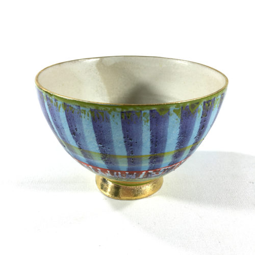 Keramikbowl Abstrakt (blau) Bild 1