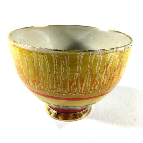 Keramikbowl Abstrakt (gelb) Bild 1