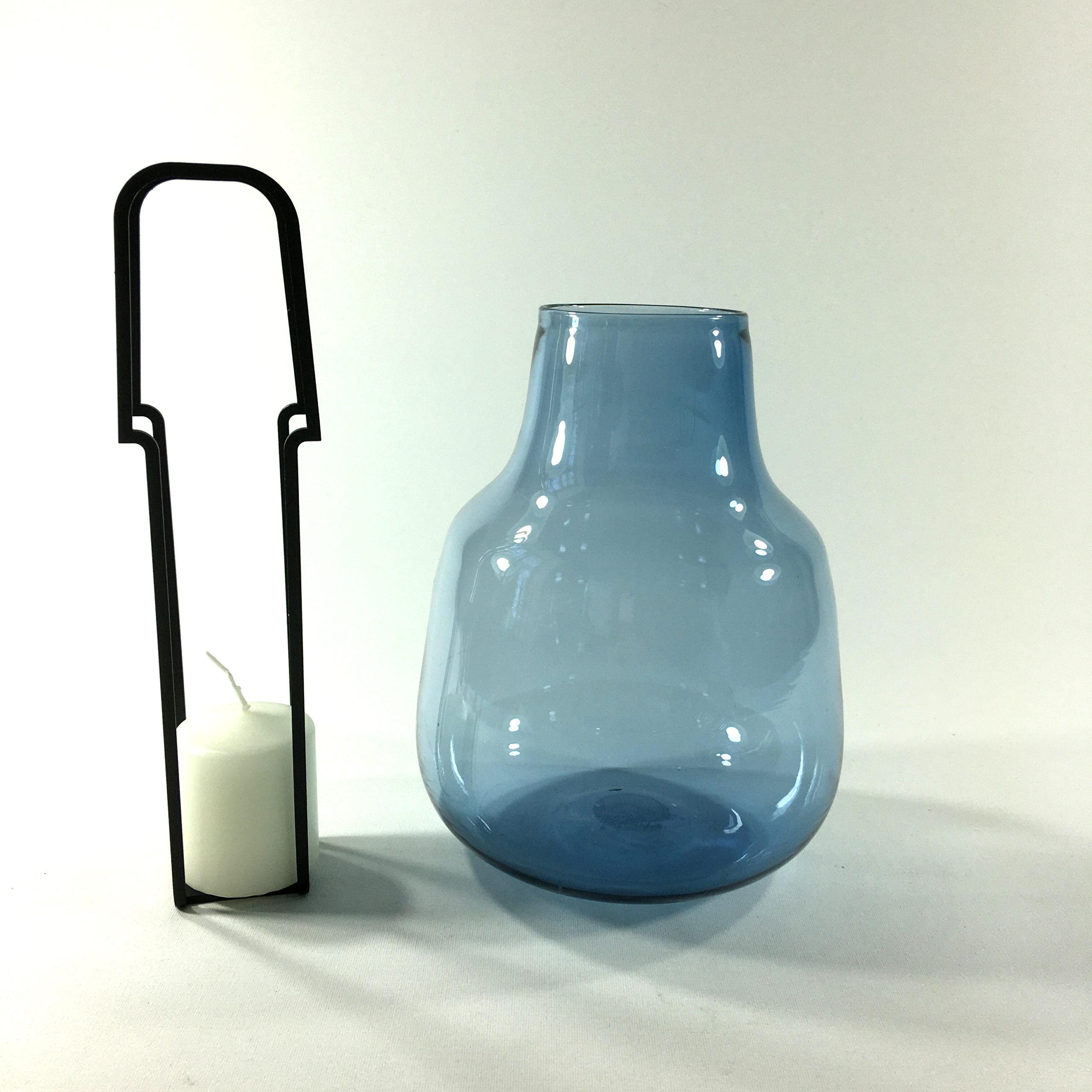 Windlicht Bolsa (blau) Bild 2
