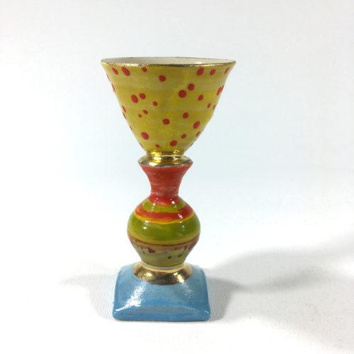 Eierbecher (grün/gelb) Bild 1