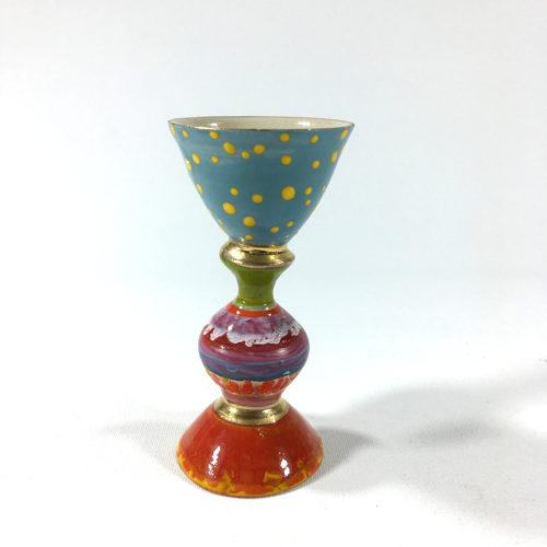 Eierbecher (violett/blau) Bild 1