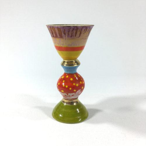 Eierbecher (violett/rot) Bild 1