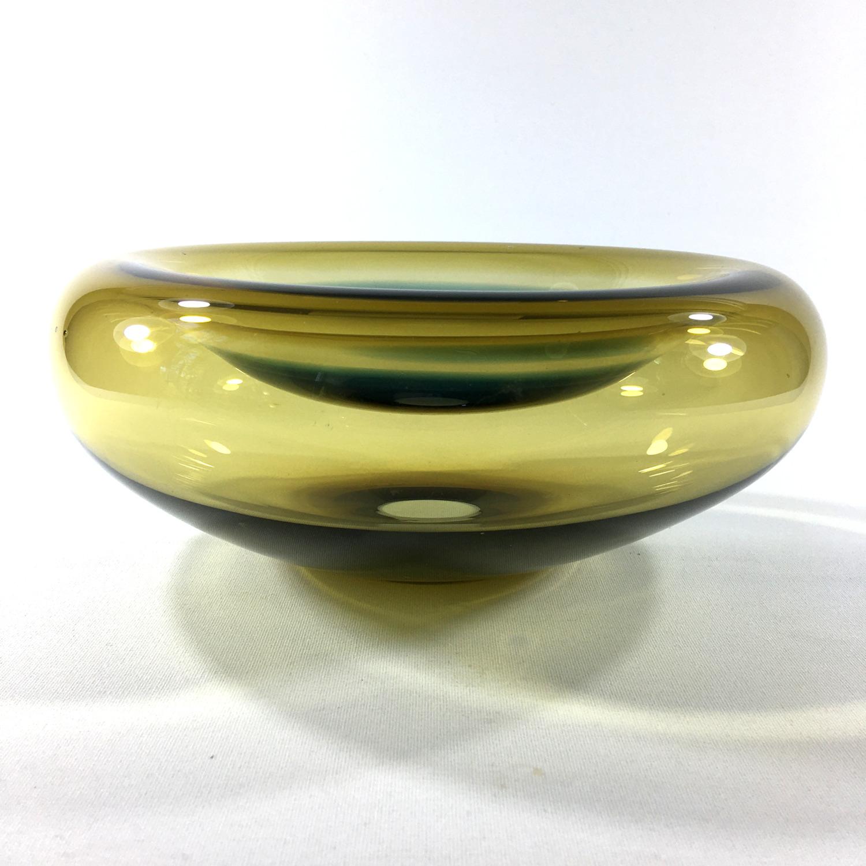 Incalmo Glasschale (gelb/blau) Bild 2