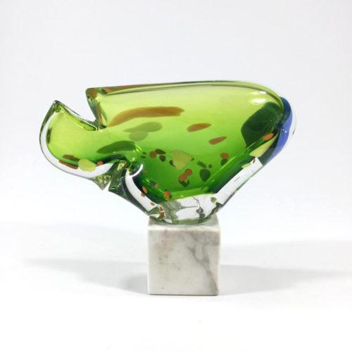 Innenfisch (grün/blau) Bild 1