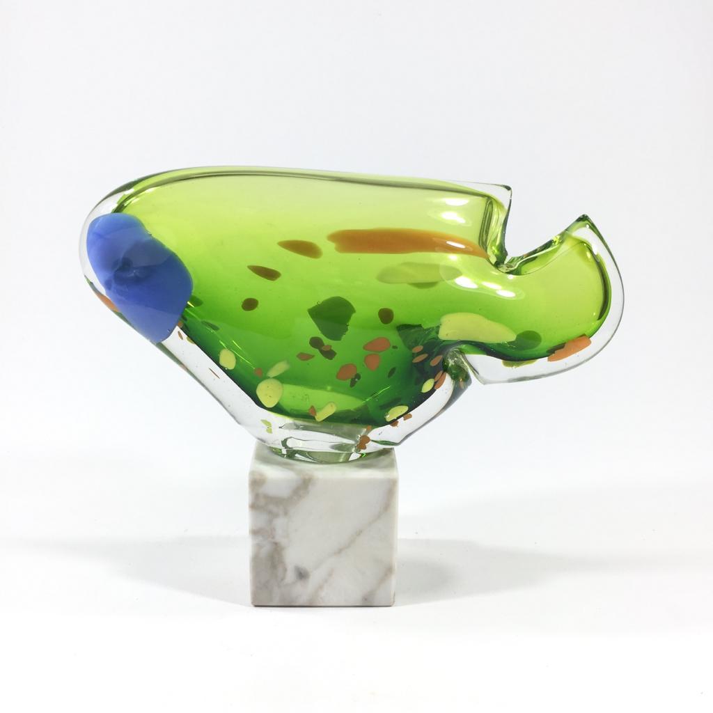 Innenfisch (grün/blau) Bild 2