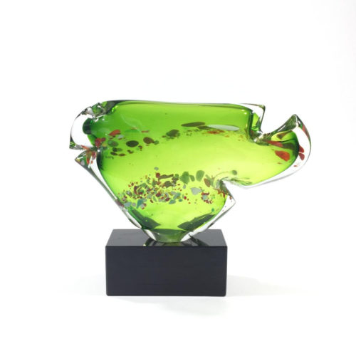 Innenfisch (grün/weiß) Bild 1