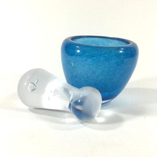 Glasmörser Blau Bild 1