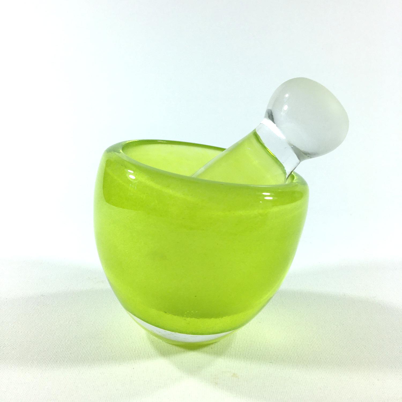 Glasmörser Grün Bild 2