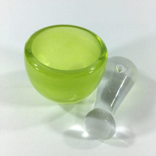 Glasmörser Grün Bild 1