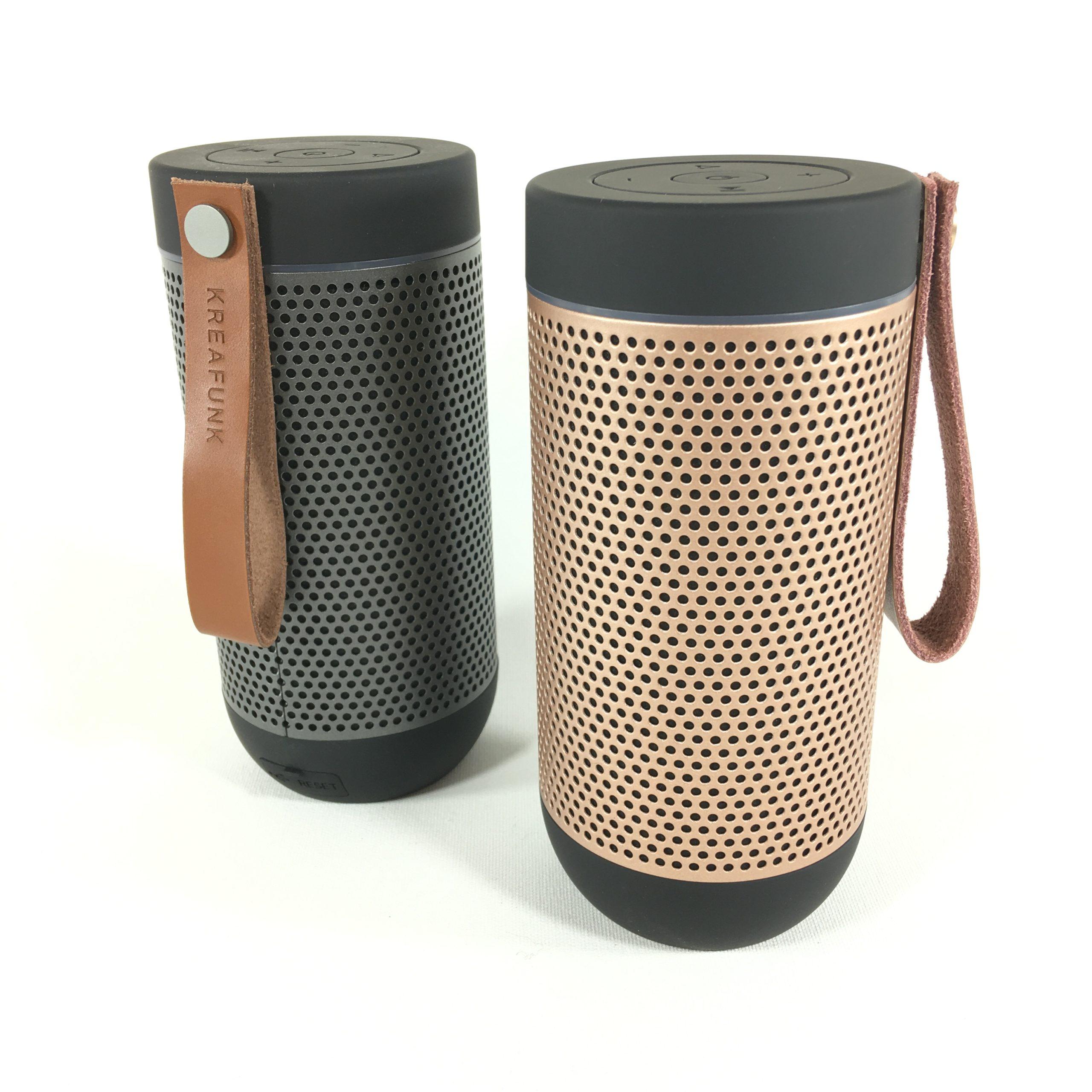 Kreafunk aGlow Bluetooth Lautsprecher (black) Bild 2