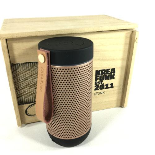 Kreafunk aGlow Bluetooth Lautsprecher (black) Bild 1