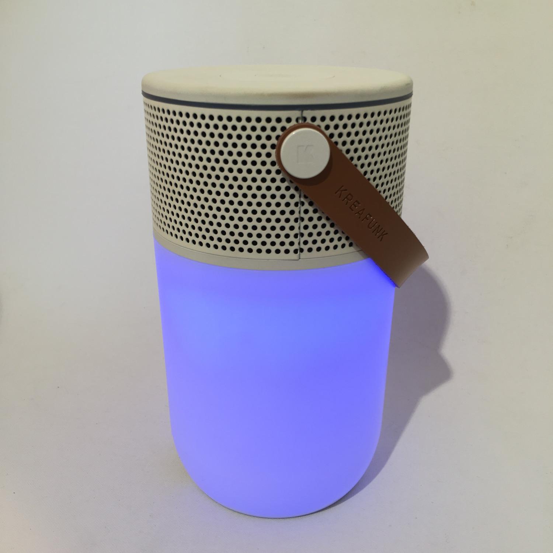 Kreafunk aGlow Bluetooth Lautsprecher mit Lichtfunktion Bild 2