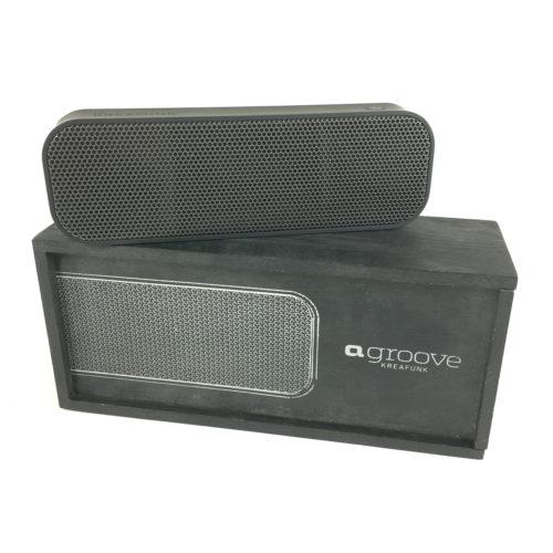 Kreafunk aGroove Bluetooth Lautsprecher (limited edition black) Bild 1