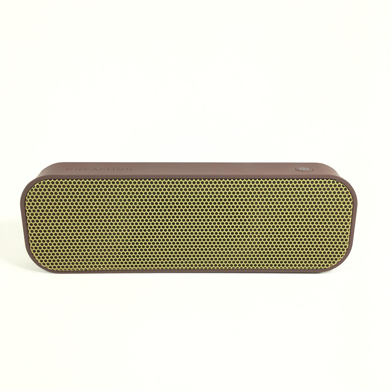 Kreafunk aGroove Bluetooth Lautsprecher (urban plum) Bild 2