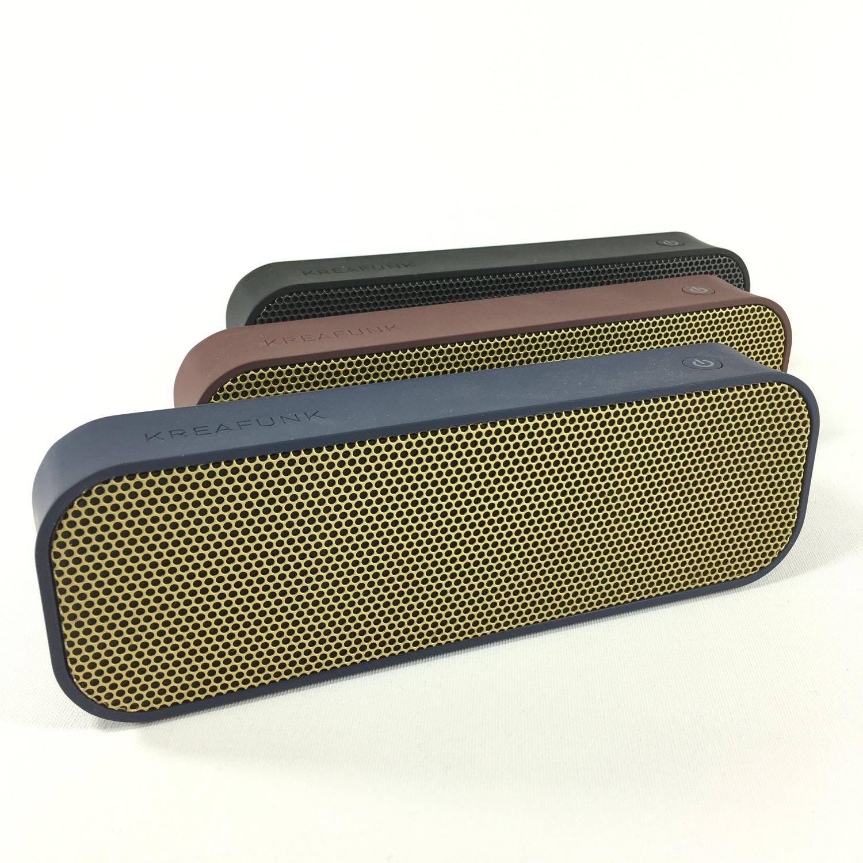 Kreafunk aGroove Bluetooth Lautsprecher (blue) Bild 2