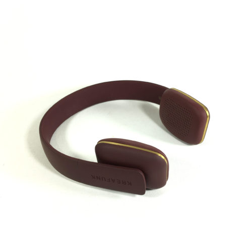 Kreafunk aHead Bluetooth Kopfhörer (urban plum) Bild 1