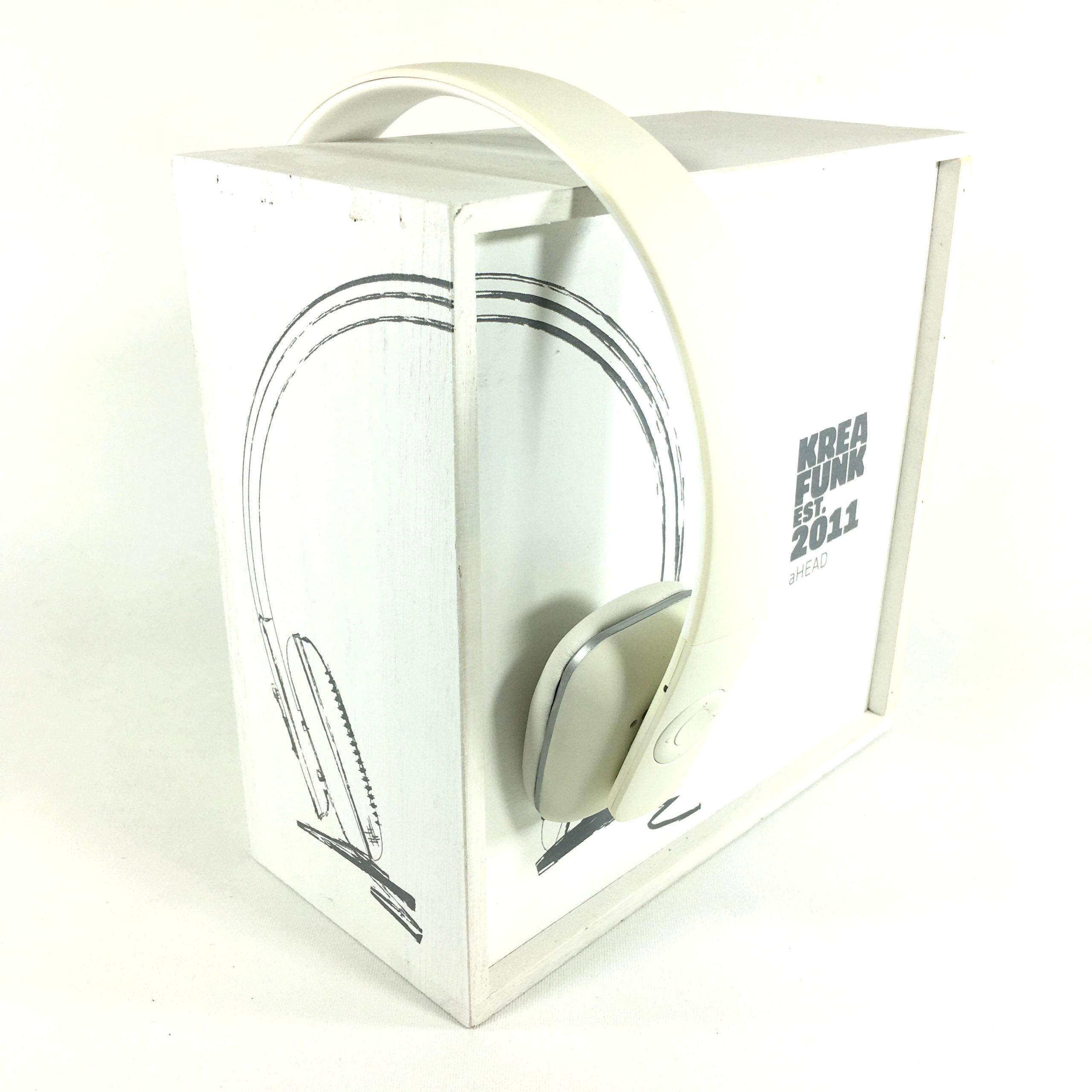Kreafunk aHead Bluetooth Kopfhörer (white) Bild 2