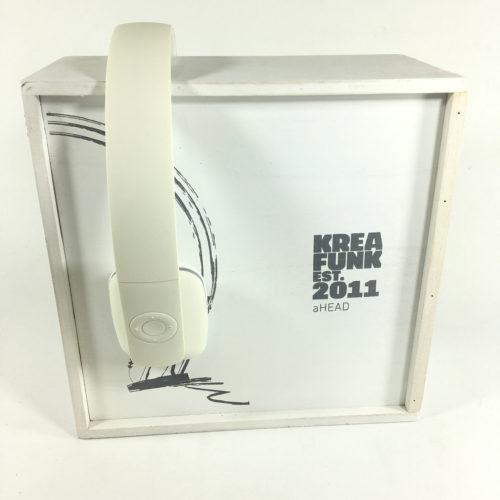 Kreafunk aHead Bluetooth Kopfhörer (white) Bild 1