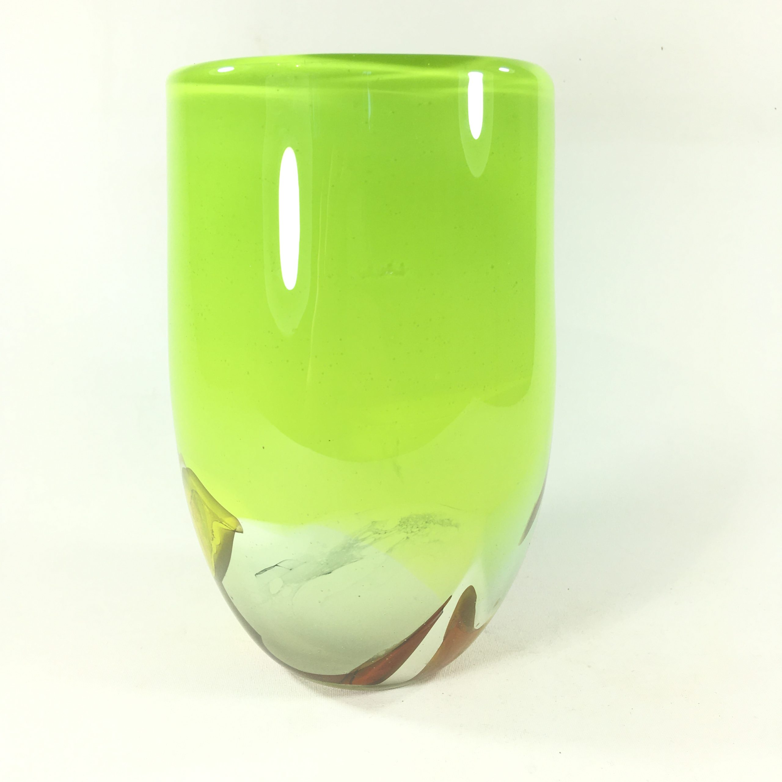Landschaftsvase (grün/gelb) Bild 2