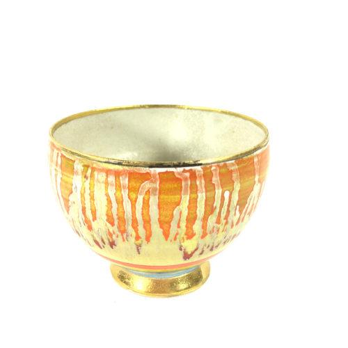 Keramikbowl Abstrakt (rot) Bild 1