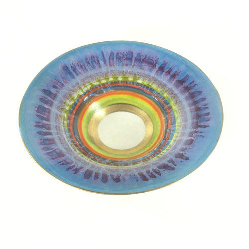 Keramikschale Abstrakt (violett) Bild 1