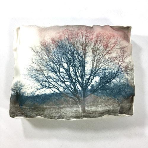 Wandobjekt Eiche ohne Blätter Bild 1