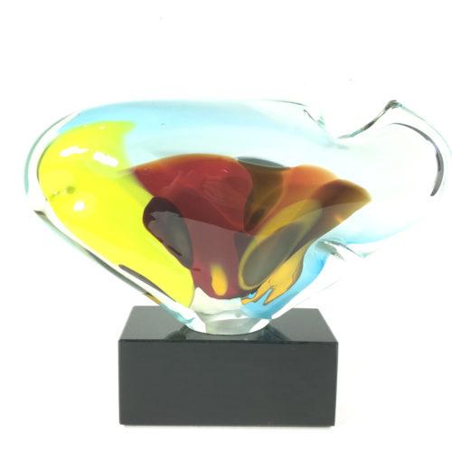 Innenfisch (transparent/bunt) Bild 1