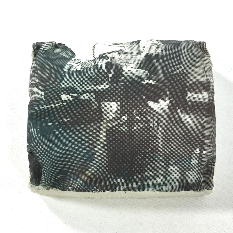 Wandobjekt Pala & Ghimi im Atelier Bild 2