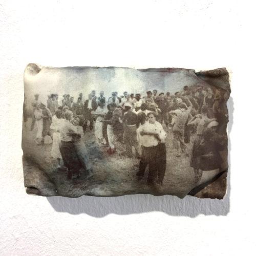 Wandobjekt Tanzen am See Bild 1