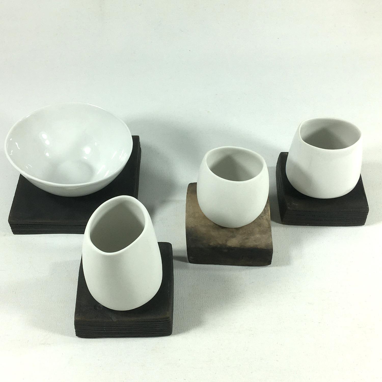 Teeschale mit Unterteil (klein) Bild 2