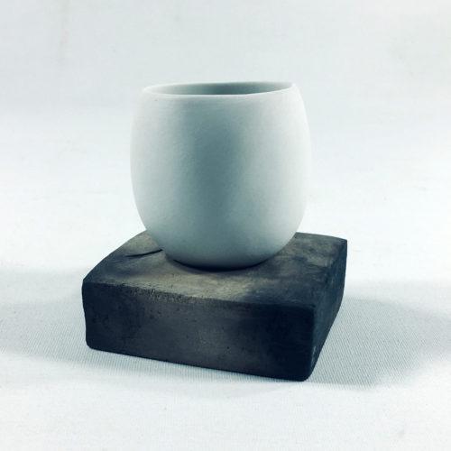 Teeschale mit Unterteil (klein) Bild 1