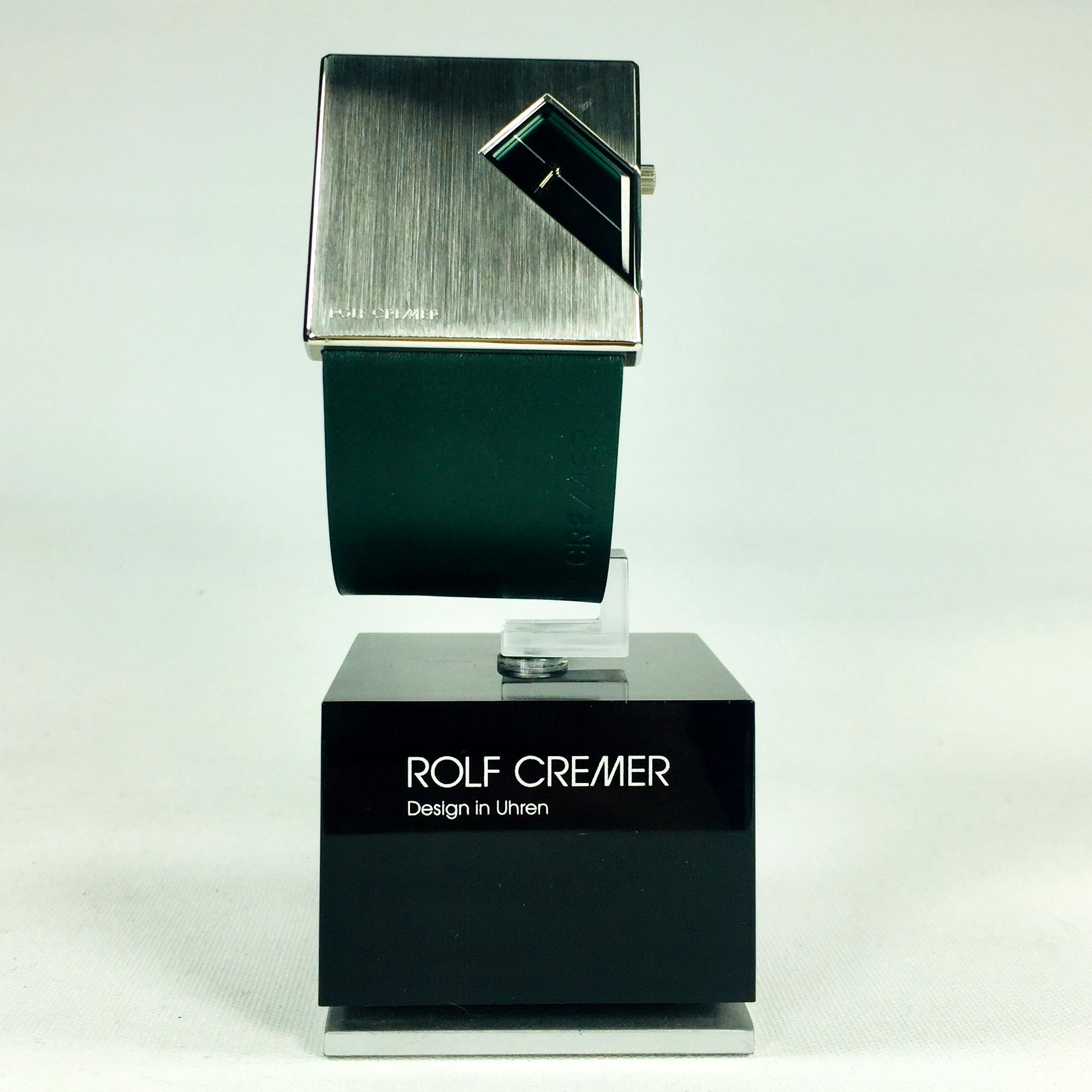 Rolf Cremer Straight Q Design Armbanduhr (502204) Bild 2
